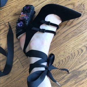 Asos premium embellished heels